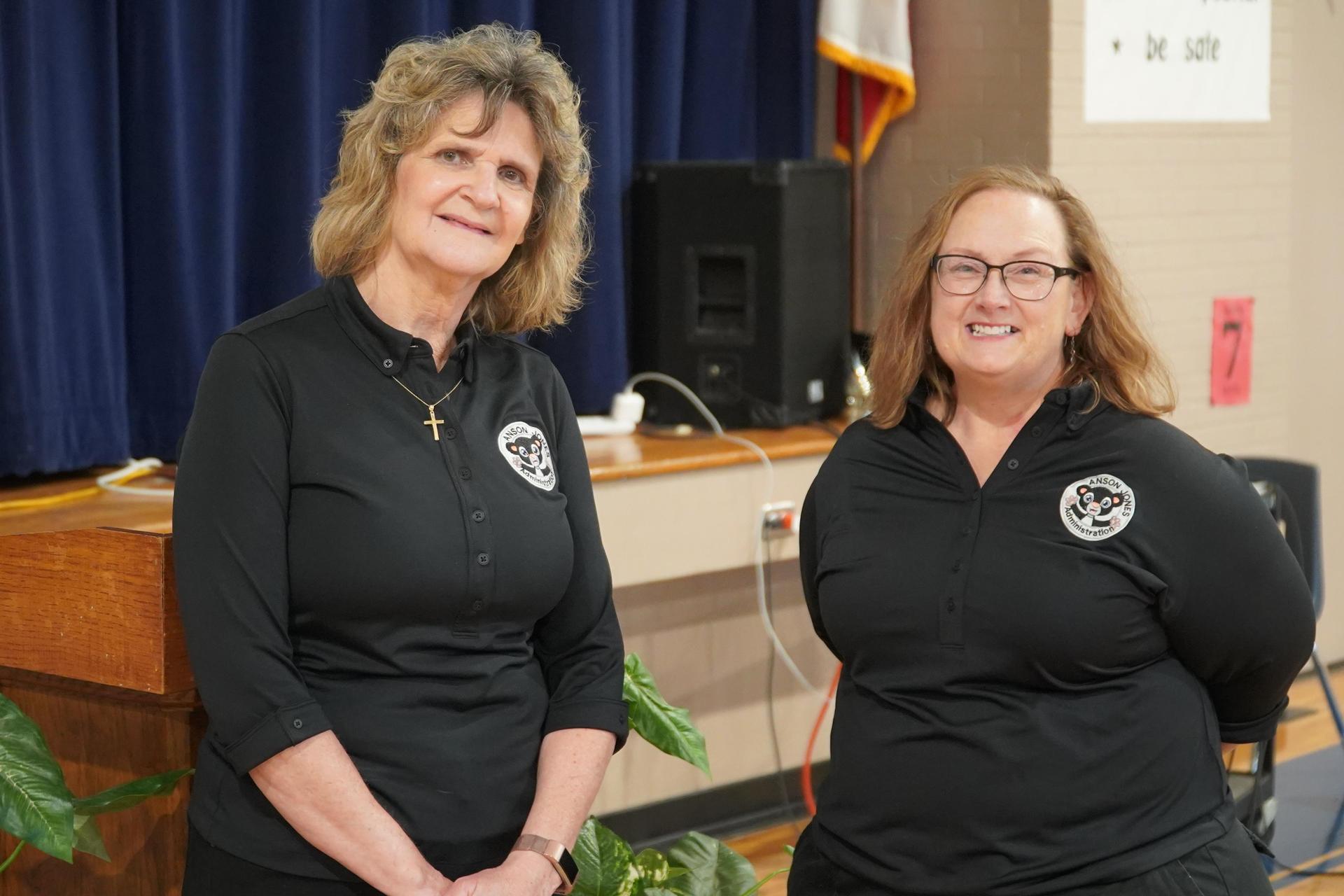 Linda Montoya and Courtney Piatt