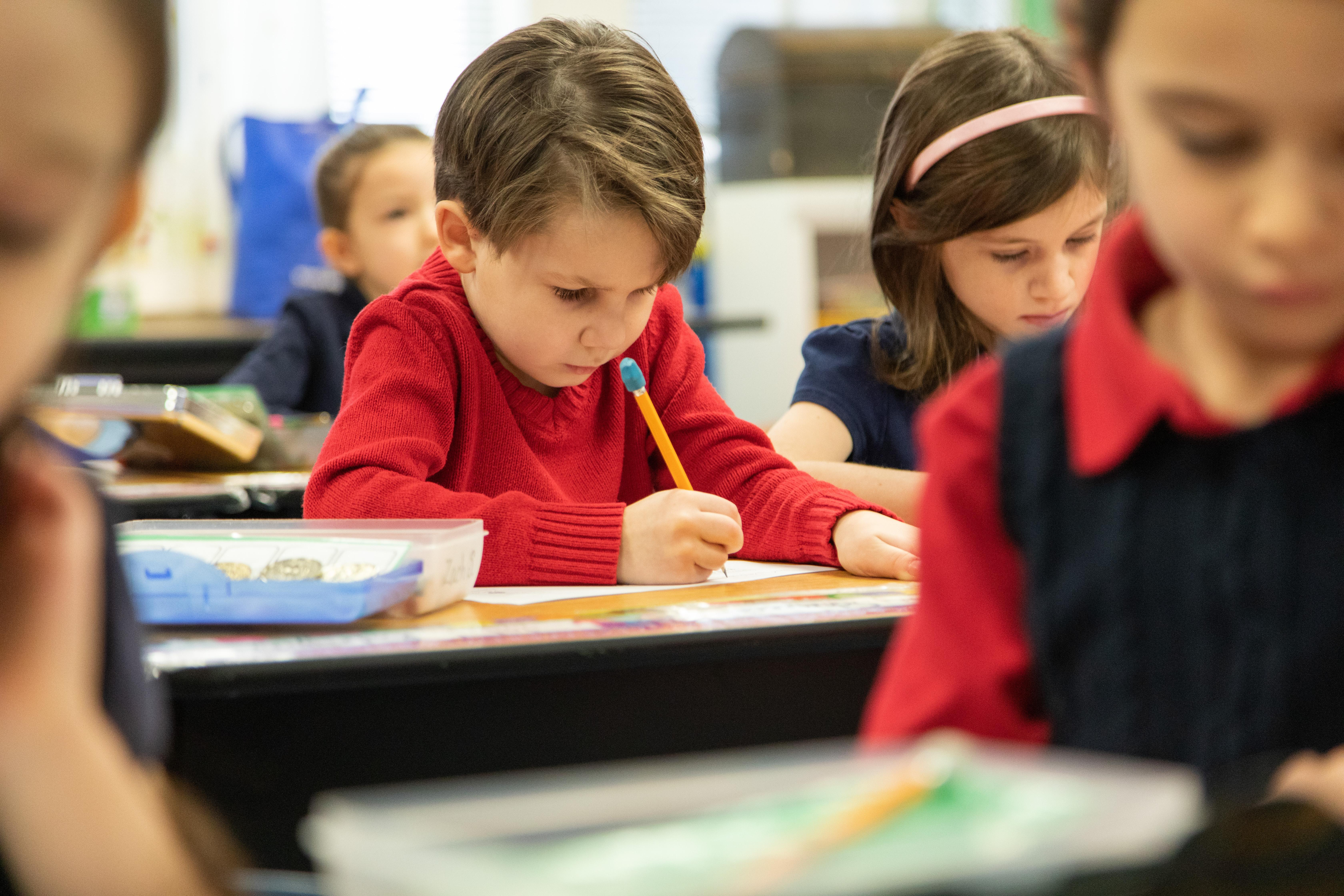 Kindergarten Student
