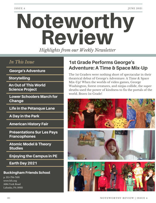 June 2021 Noteworthy Review