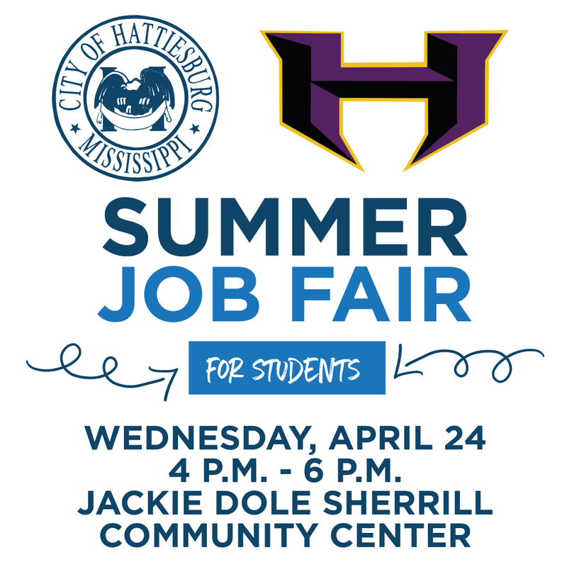 City of Hattiesburg Student Job Fair, April 24 Featured Photo