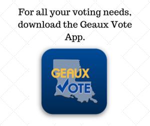 geaux vote app