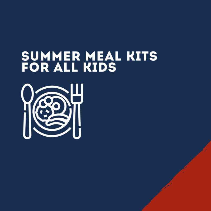 Summer meals for all kids 0-18