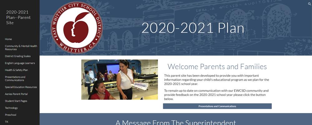 2020-21 Plan