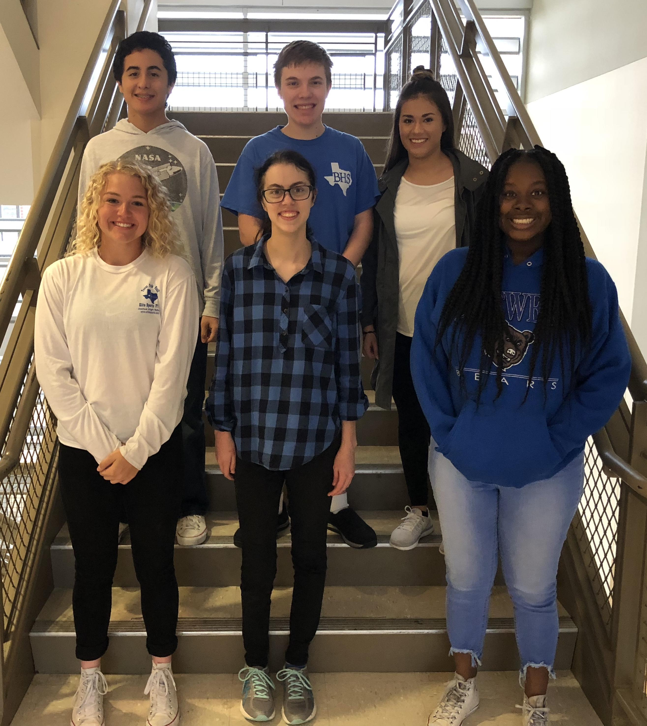 Six Brewer High School Students Place at District UIL Academic Competition