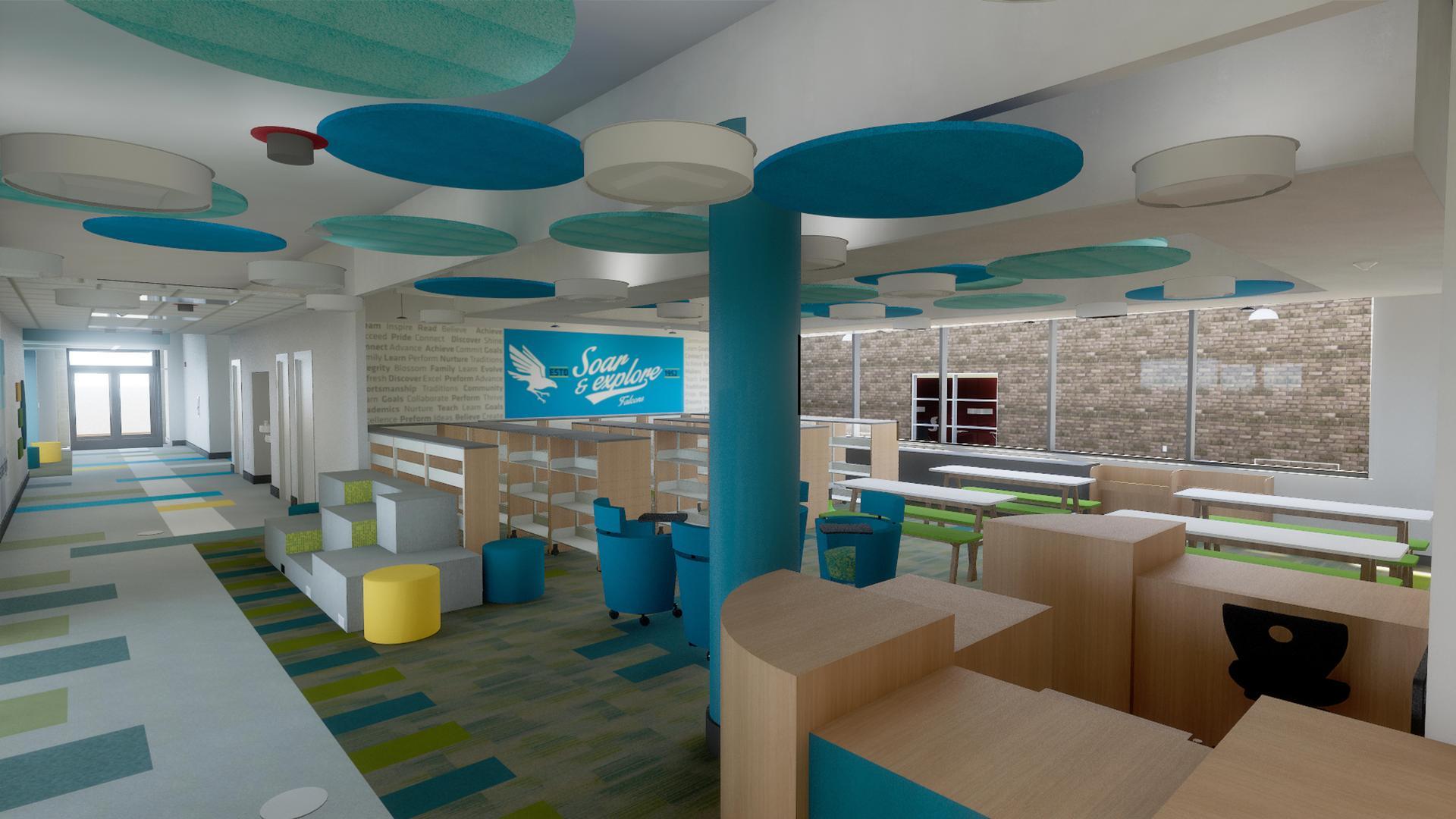 The new media center.