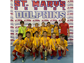 CSJ indoor ⚽️ Mini CAMPEÓN 🏆 - St. Mary's School Thumbnail Image