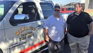 parrish and windsor volunteer fire department