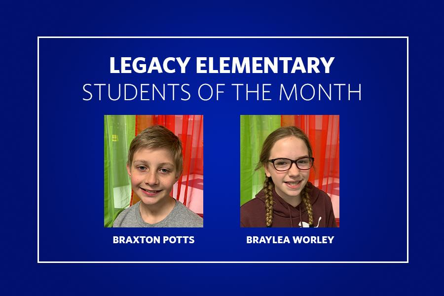Legacy Students of the Month