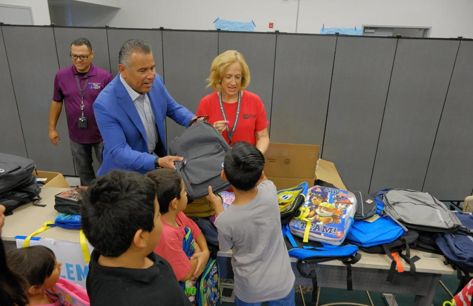 The #PUSD Family Resource Center Provided free School supplies and backpacks to children on Aug. 2nd. Thank You to all that helped make this annual event a wonderful success! #allmeansall #proud2bepusd #pusdfsrc