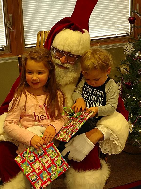 Books with Santa