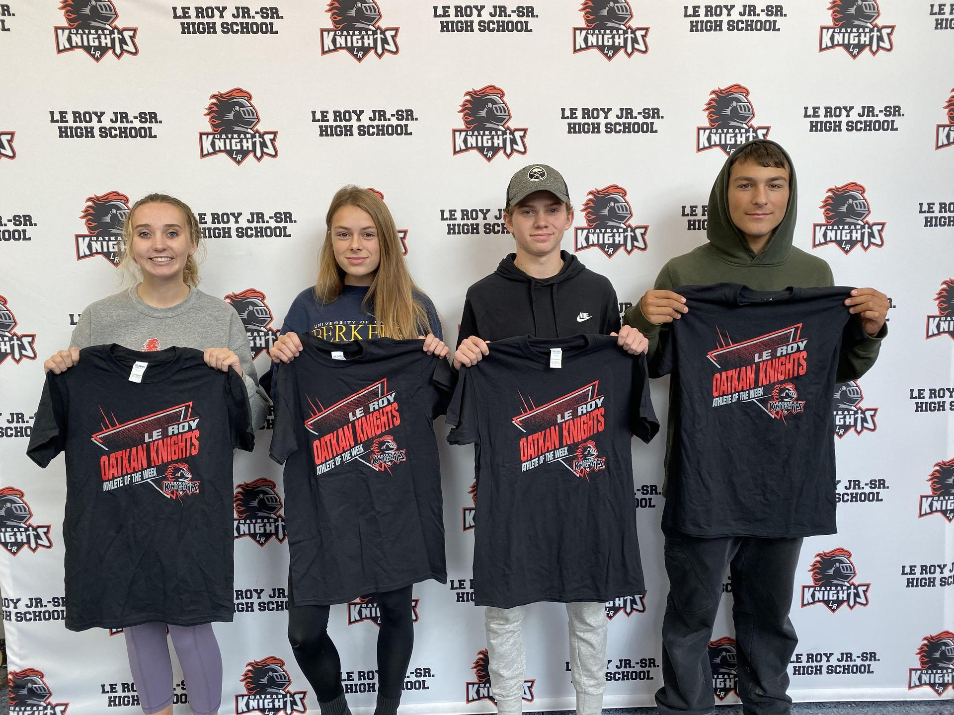 Athletes of the Week 10/7-13