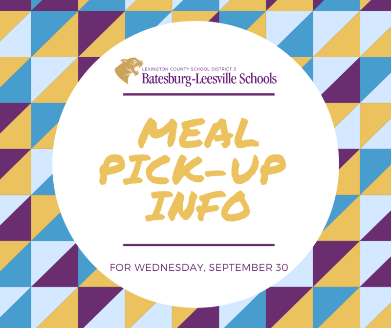 Meal Pick-Up Day Scheduled for September 30th