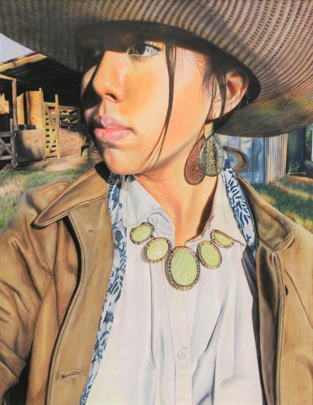 """Heading Past Yonder"" by Layla Perez Grade 11, Magnolia West High School, teacher Cheyanna Snook"