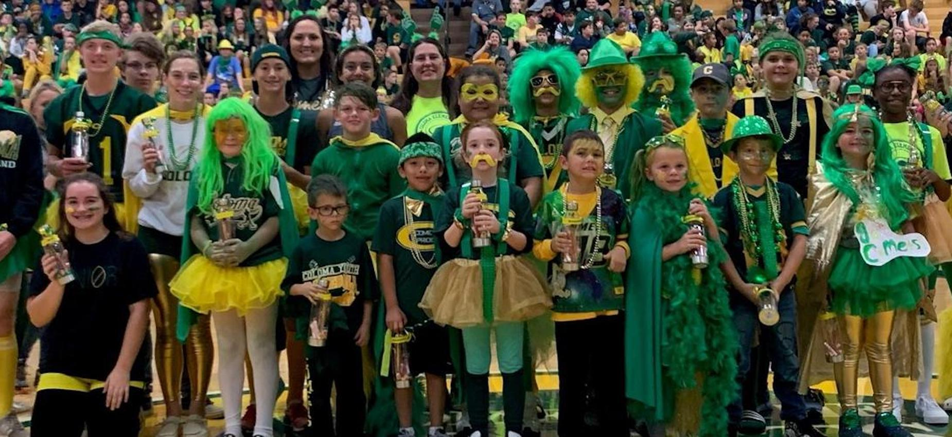 Green & Gold Spirit Winners 2019
