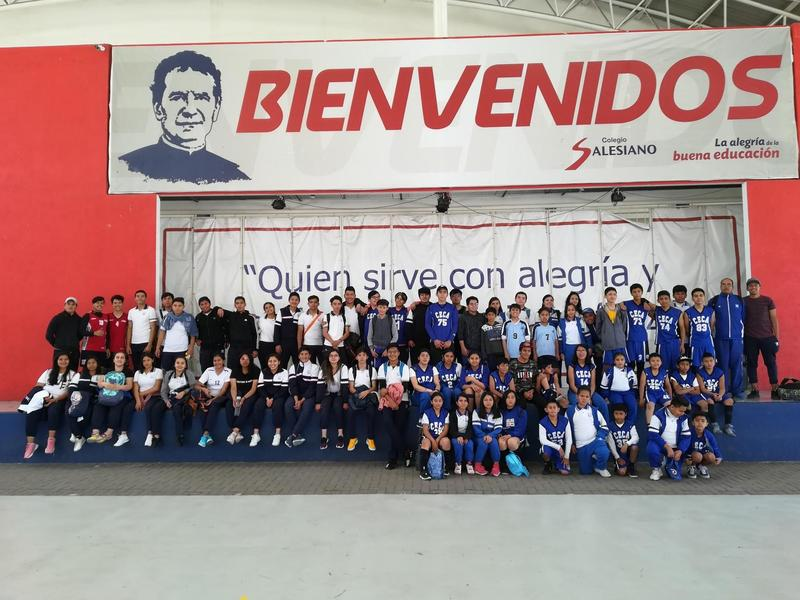 Convivencia Deportiva organizada por el Colegio Salesiano  de Querétaro Qro. Featured Photo