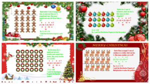Holiday themed math problems