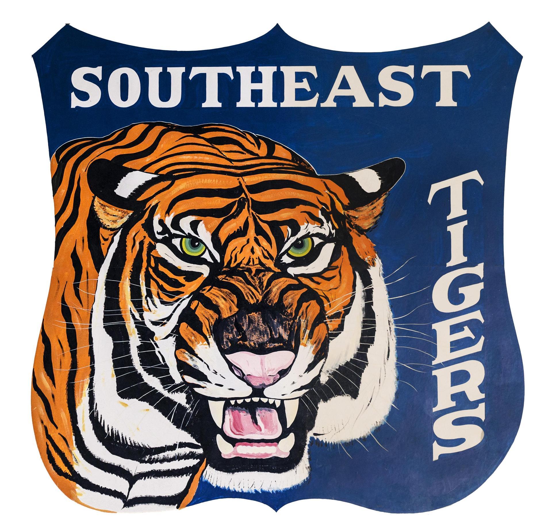 Southeast Tiger Mascot