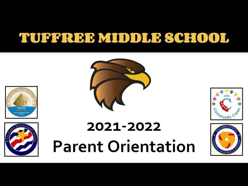 2021-22 Parent Orientation Presentation title slide