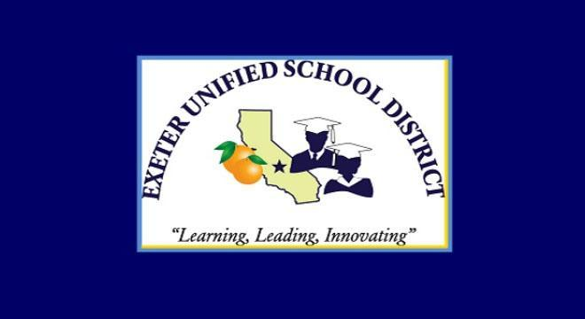 exeter unified school district logo
