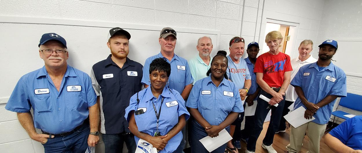 Maintenance and Custodial workers of Charleston R-I Schools