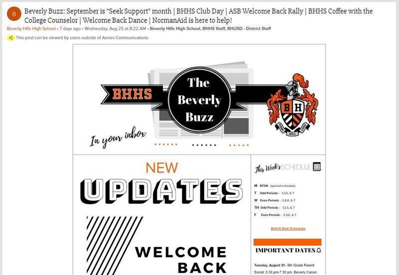 BHHS Newsletter - The Beverly Buzz - September 1, 2021