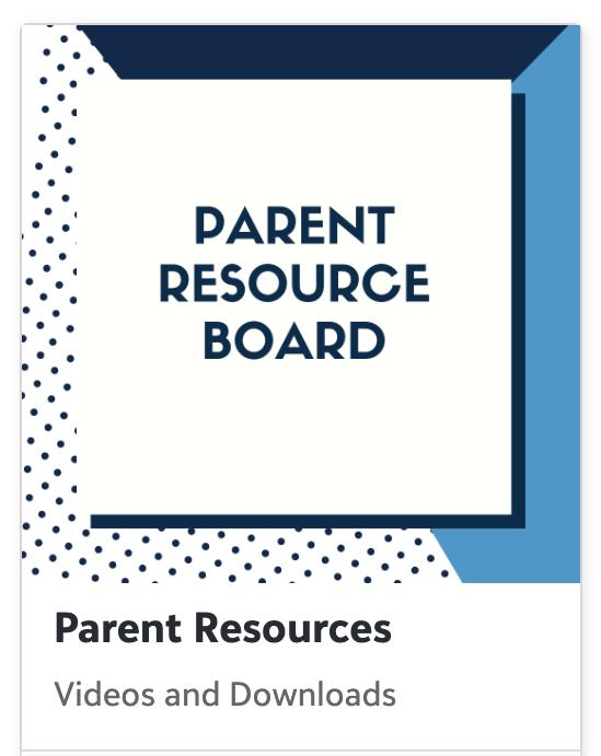 Parent Resource Board