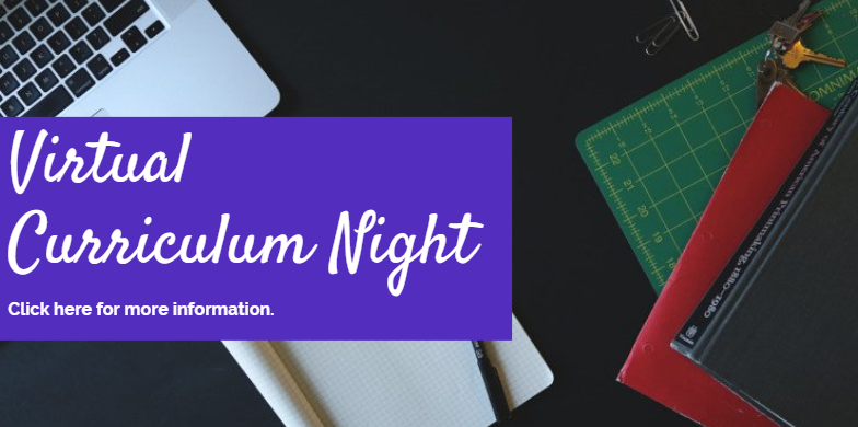 Virtual Curriculum Night is here!!! Thumbnail Image