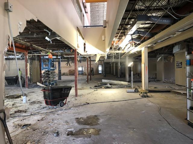 HMS progress 1st floor