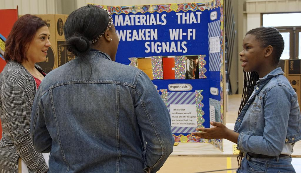 St. John the Baptist Parish Public Schools science fair