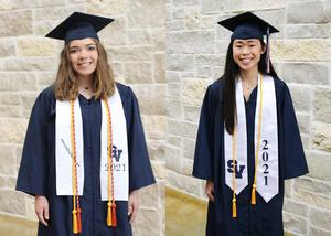SVHS 2021 Valedictorian and Salutatorian