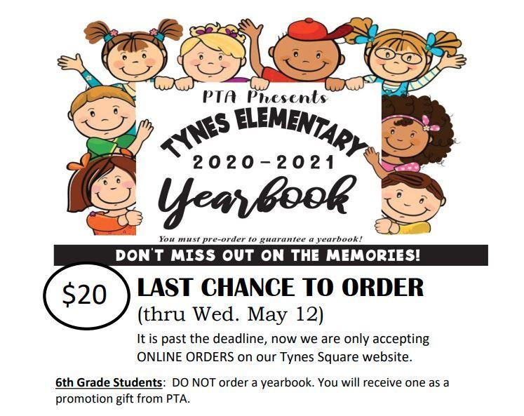 Year Book order