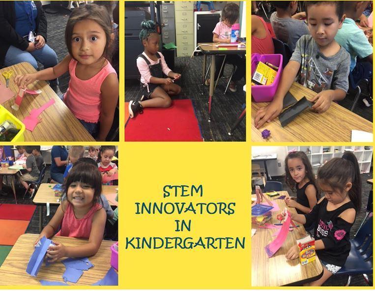 Stem Innovators in Kindergarten