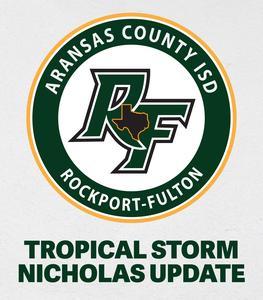 Aransas County ISD Keeping an Eye on Tropical Storm Nicholas