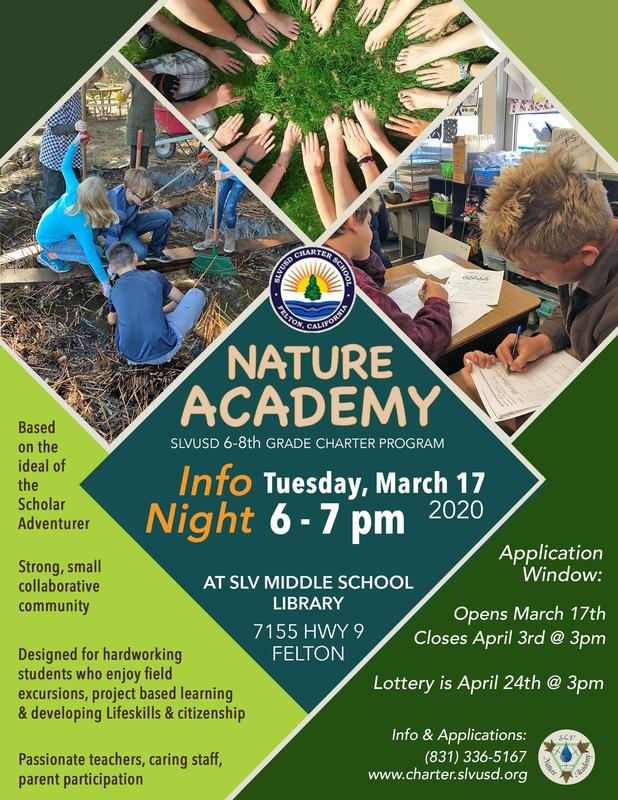 Nature Academy Information Night • March 17, 2020