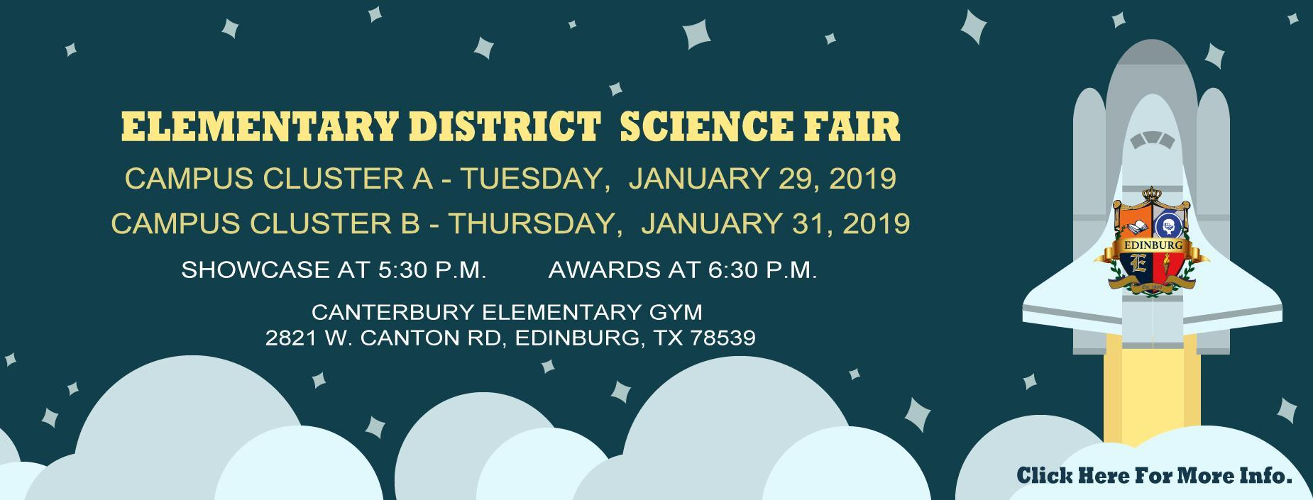 Elementary District Science Fair