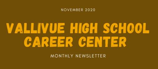 VHS Career Center November Parent Newsletter