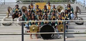 The McComb High School 2019-2020 Band Members and Seniors!