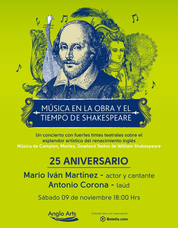 Música en la obra y tiempos de Shakespeare | Mario Iván Martinez Featured Photo