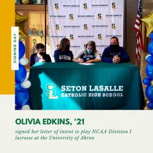 Olivia Edkins signing day