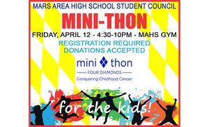 Mars Area High School Mini-THON Announcement