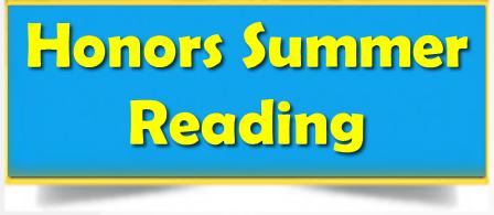 English Honors: Summer Reading Thumbnail Image