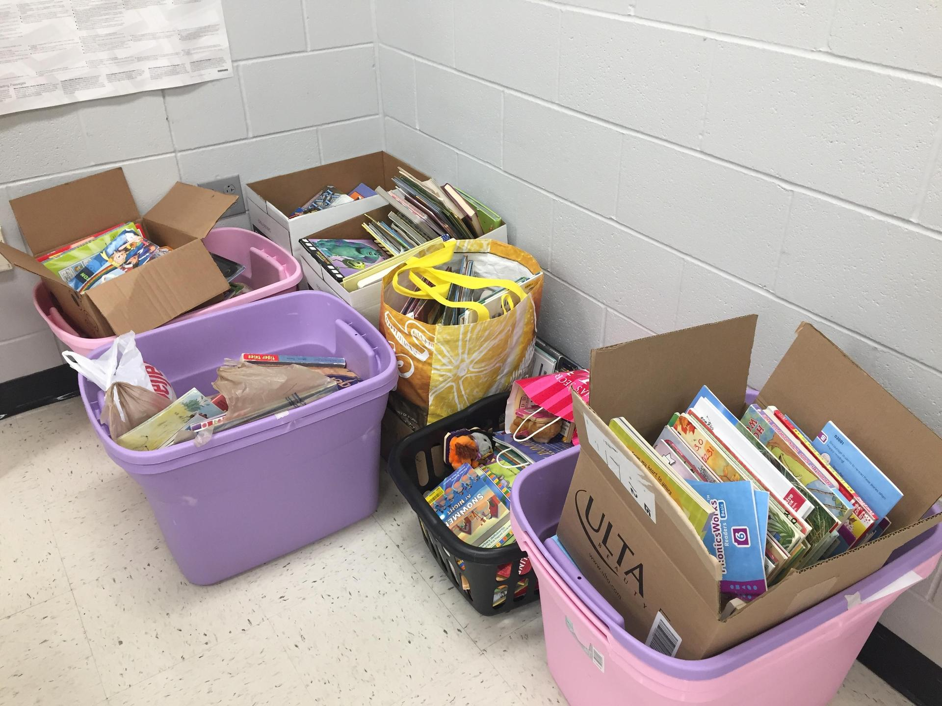 Children's book drive collection 2020