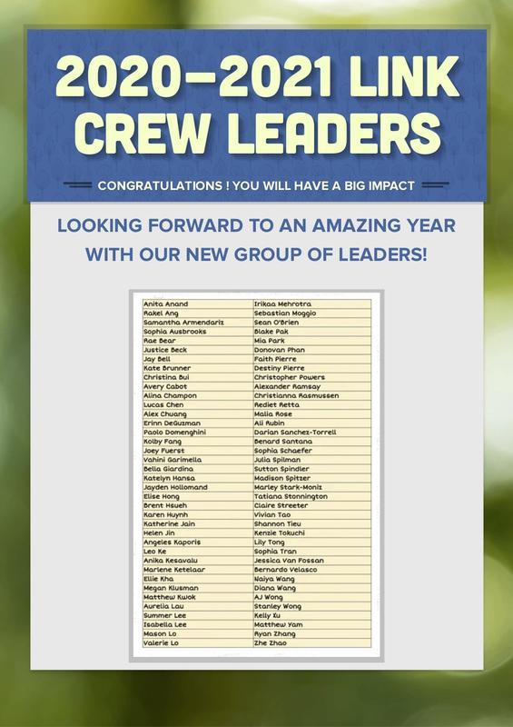 2020 Link Crew Leaders.jpg