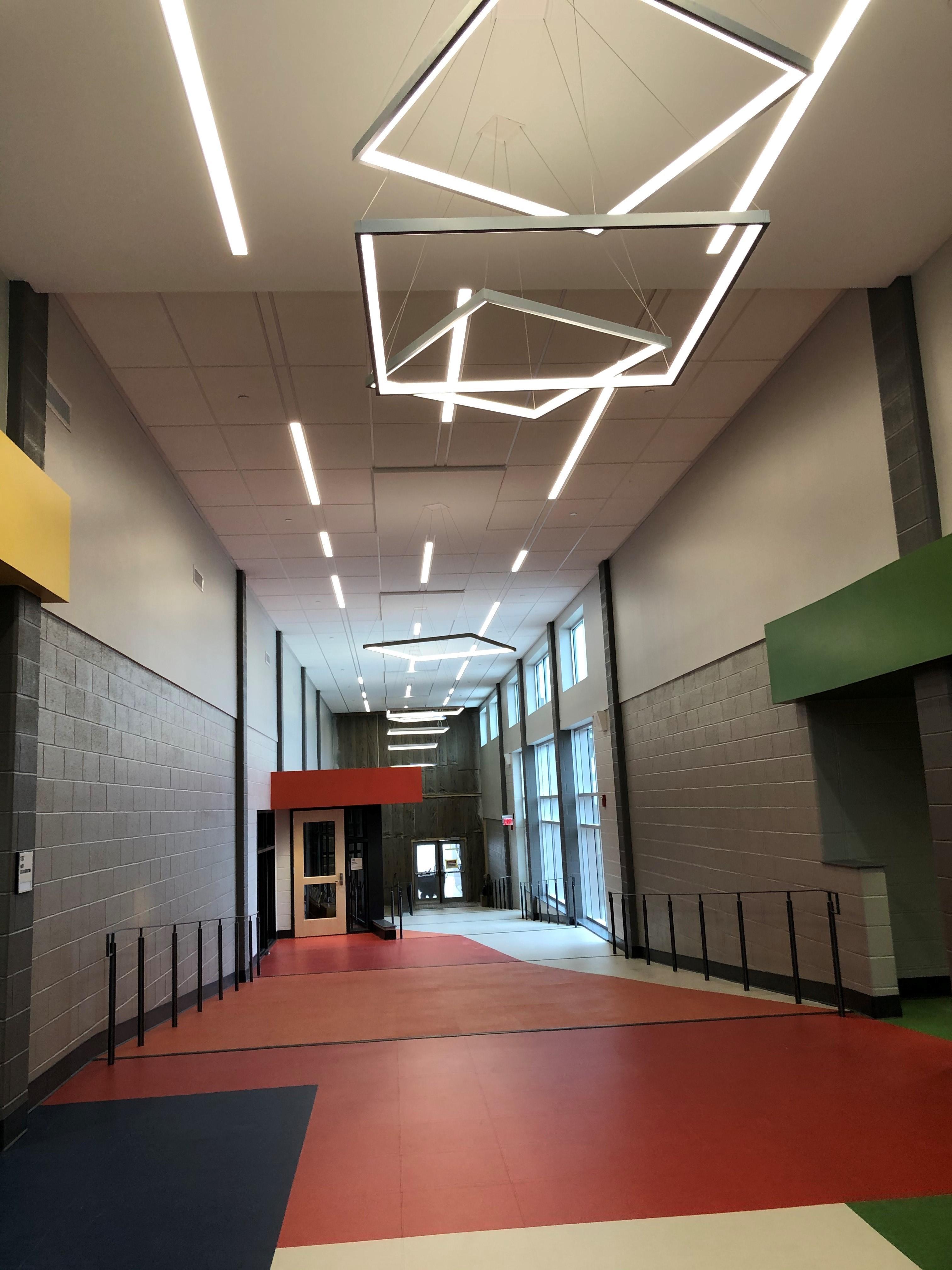 Hallway in New Wing between New/Old Building