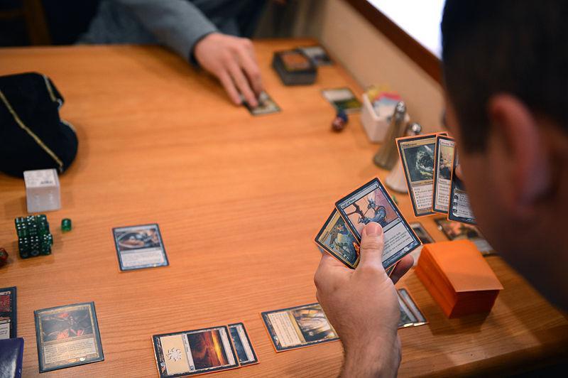 Pokeman hand of cards