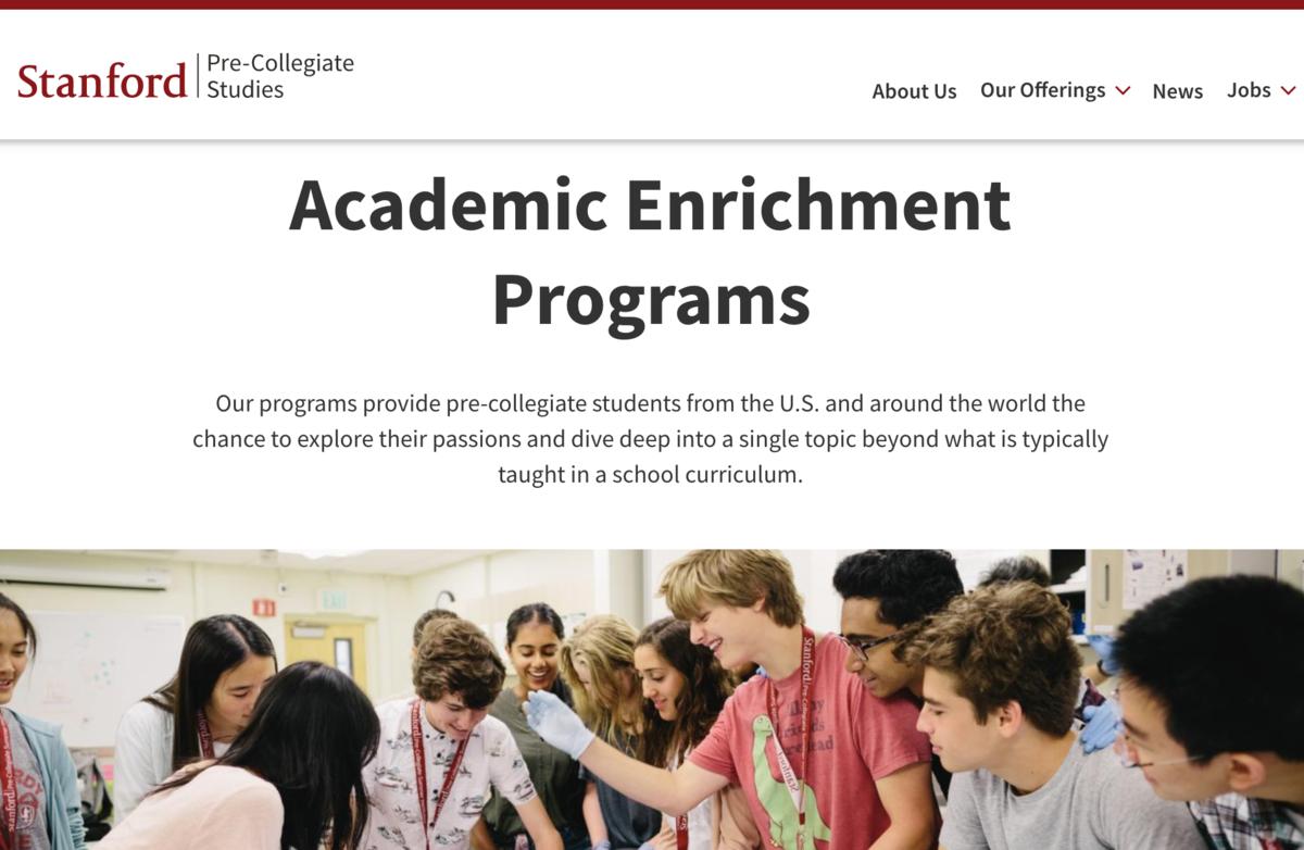 image of stanford university's summer programs
