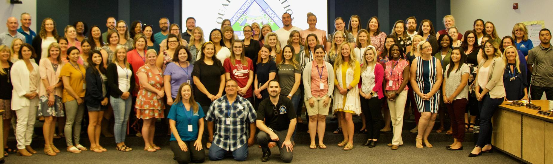 Welcome New Teachers to the Beaumont USD Family!