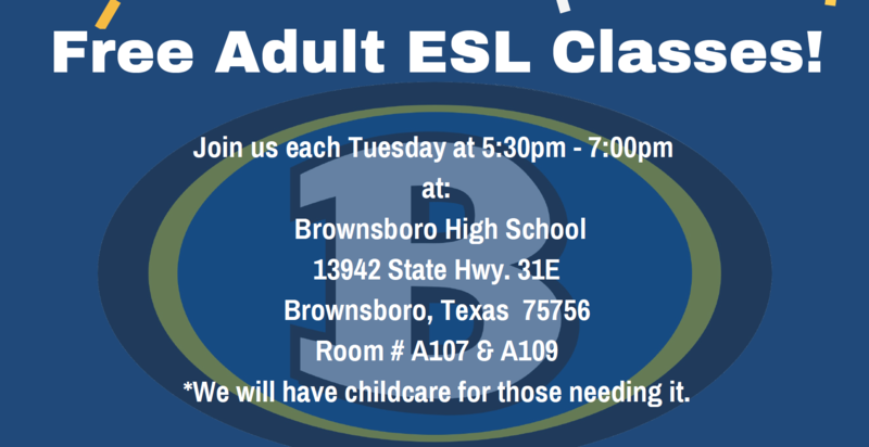 Free ESL classes held on Tuesdays Featured Photo