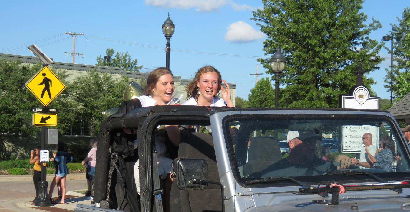 TKHS Class of 2020 had a parade through downtown Middleville when COVID-19 canceled their graduation ceremony.