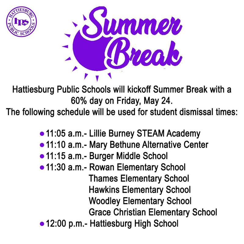 HPSD Last Day of School- Early Dismissal, May 24 Featured Photo